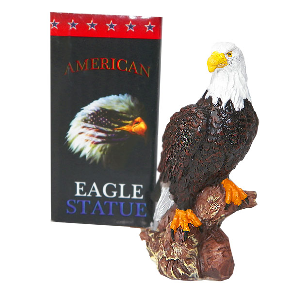 3 Inch American Eagle Statue - Assorted Prizes - Prizes & Novelties