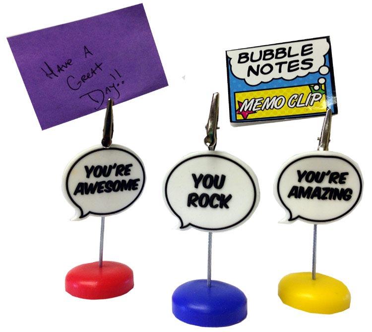 Bubble Notes Memo Clip - Assorted Prizes - Prizes & Novelties
