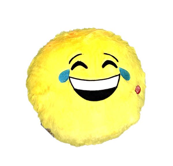 Light Up Emoji Smile Pillow - Prizes For Boys & Girls - Prizes & Novelties