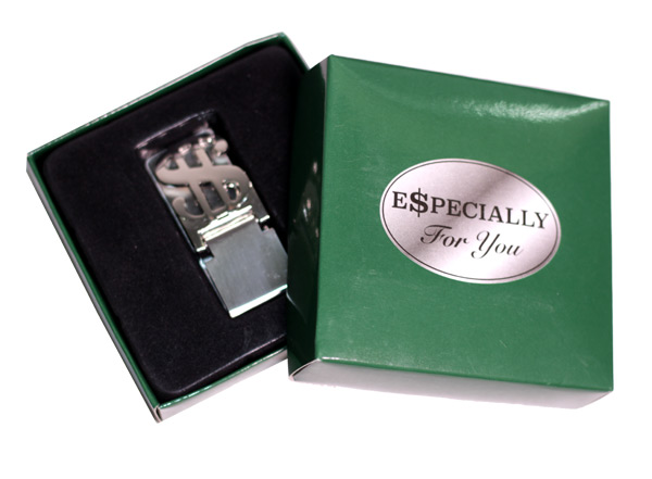 Dollar Sign Money Clip - Prizes for Guys - Prizes & Novelties