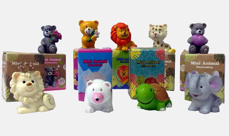 Mini Animal Decoration in Box - Prizes For Boys & Girls - Prizes & Novelties