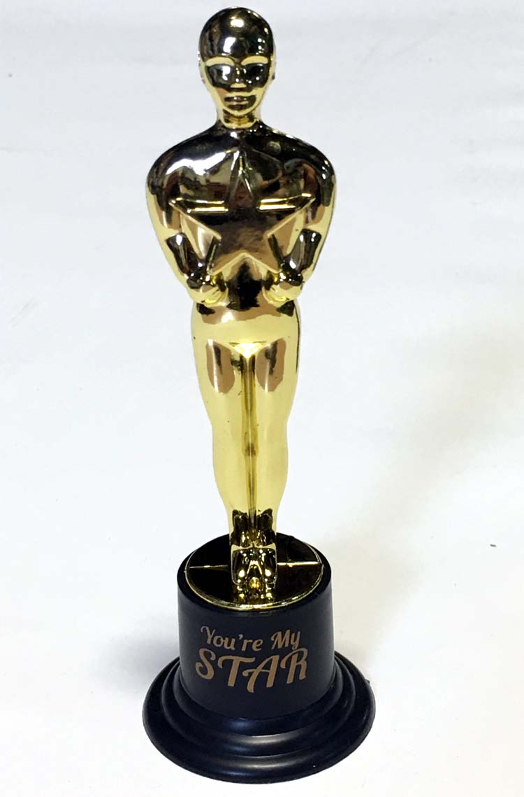 You-re My Star Oscars Trophy - Assorted Prizes - Prizes & Novelties