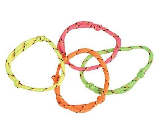 Nylon Friendship Rope Bracelets - Prizes For Boys & Girls - Prizes & Novelties