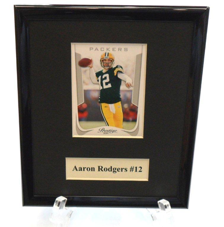Aaron Rodgers NFL Sports Star Plaque - Sports Team Logo Prizes - Prizes & Novelties