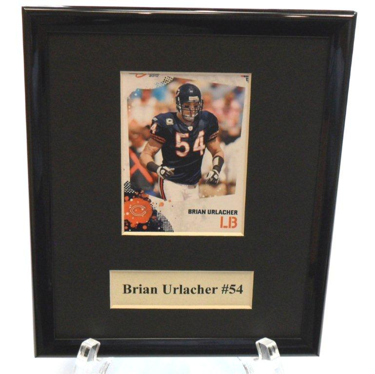 Brian Urlacher NFL Sports Star Plaque - Sports Team Logo Prizes - Prizes & Novelties
