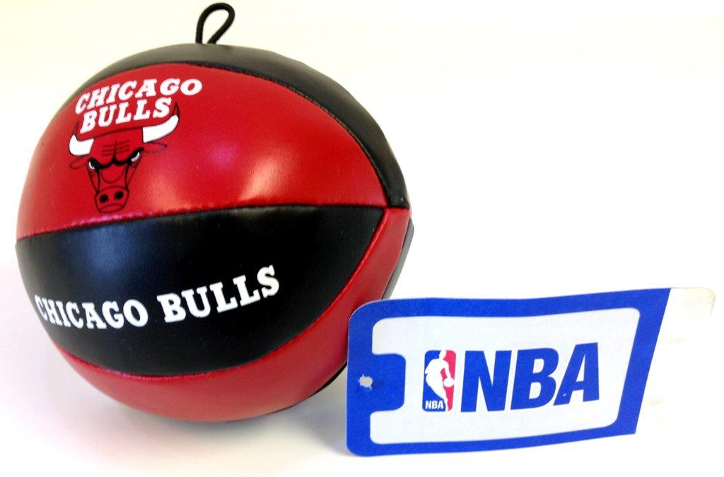 NBA Vinyl Basketball - Bulls - Sports Team Logo Prizes - Prizes & Novelties