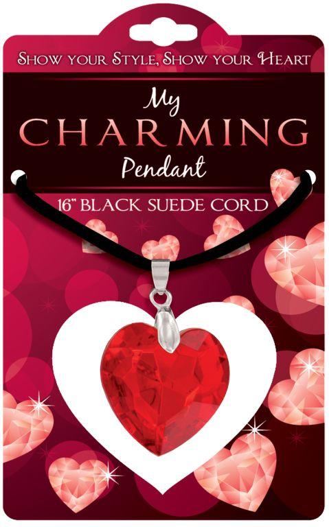 Heart Charm Pendant - Jewelry Novelties - Prizes & Novelties