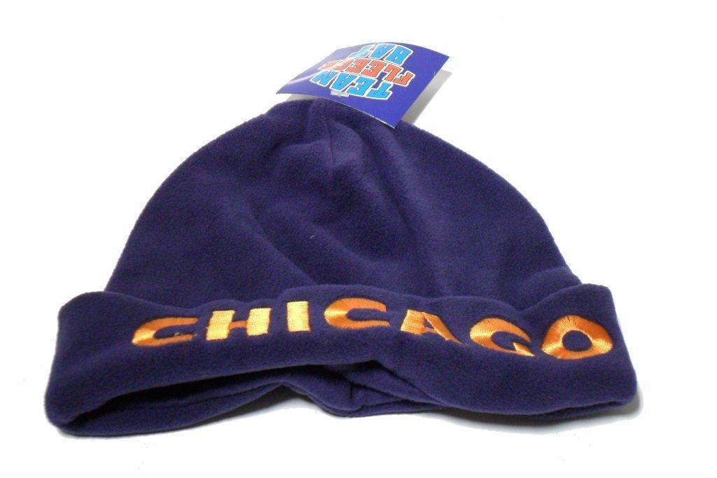 Chicago Team Fleece Hat - Sports Team Logo Prizes - Prizes & Novelties