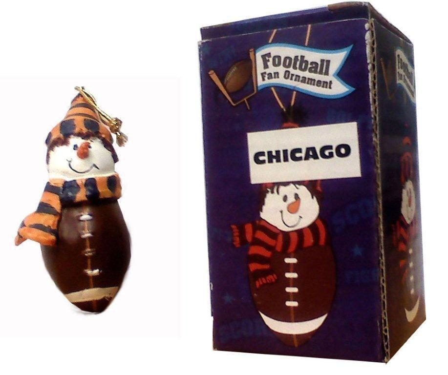 Chicago Football Fan Ornament - Sports Team Logo Prizes - Prizes & Novelties