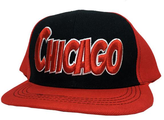 Chicago City - Flat Brim Hat - Cap - Sports Team Logo Prizes - Prizes & Novelties