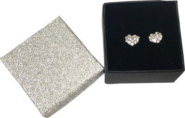Crystal Heart Earrings In Gift Box - Jewelry Novelties - Prizes & Novelties