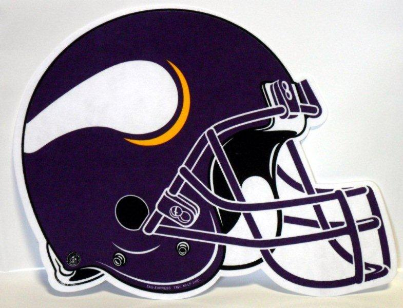 Minnesota Vikings Helmet Pennant - Sports Team Logo Prizes - Prizes & Novelties
