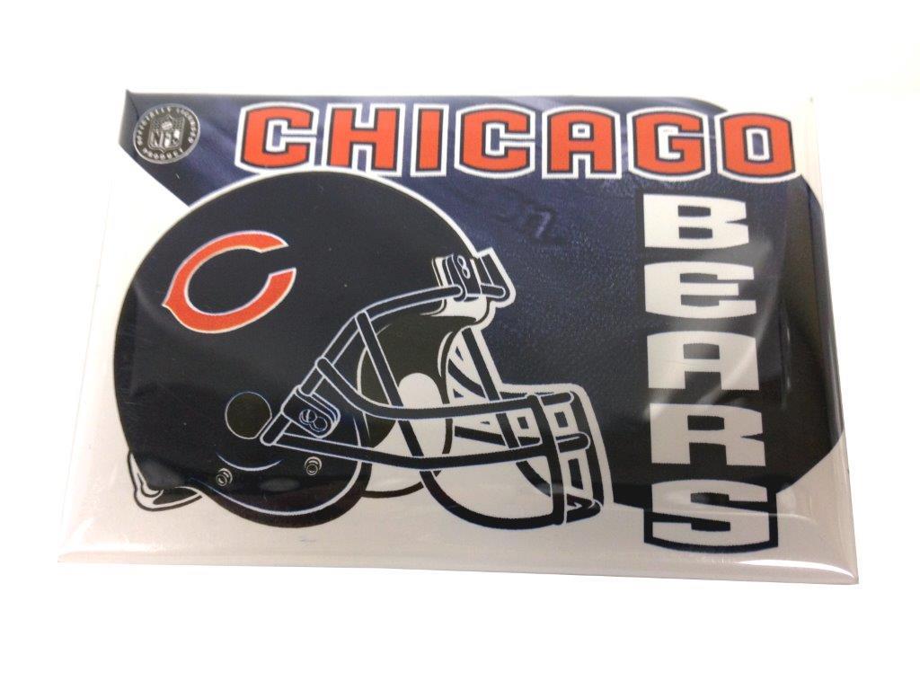 NFL Button Pin - Chicago Bears - Sports Team Logo Prizes - Prizes & Novelties