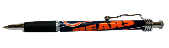 Chicago Bears NFL Rubber Grip Pen - Sports Team Logo Prizes - Prizes & Novelties