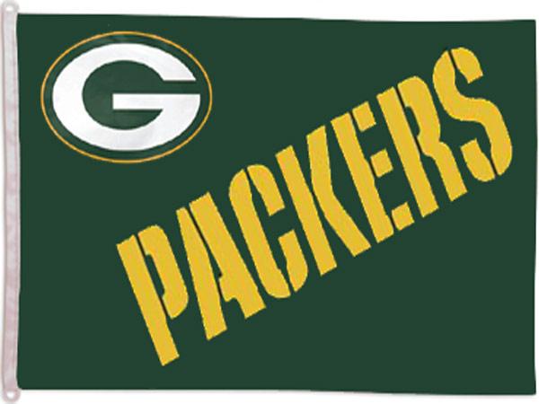 Green Bay Packers Banner Flag - Sports Team Logo Prizes - Prizes & Novelties