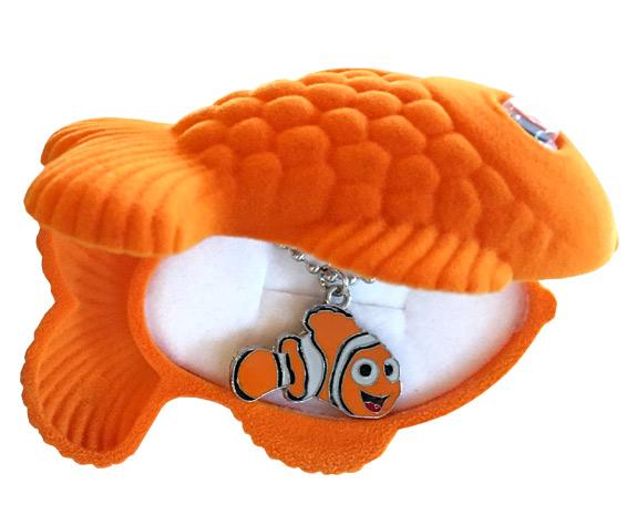 Nemo Sea Life Necklace in Matching Box - Jewelry Novelties - Prizes & Novelties
