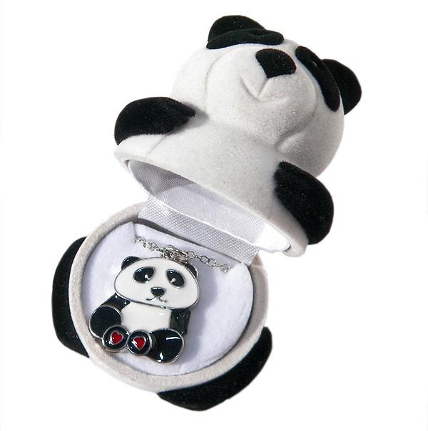 Panda Necklace in Panda Box - Jewelry Novelties - Prizes & Novelties