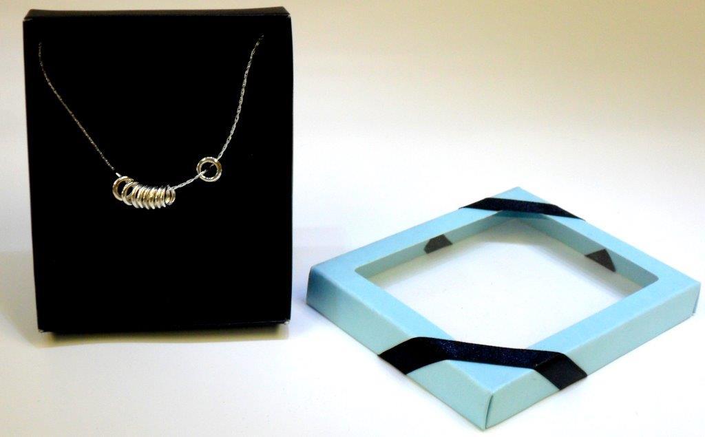 Silver Multi-Circles Necklace - Jewelry Novelties - Prizes & Novelties