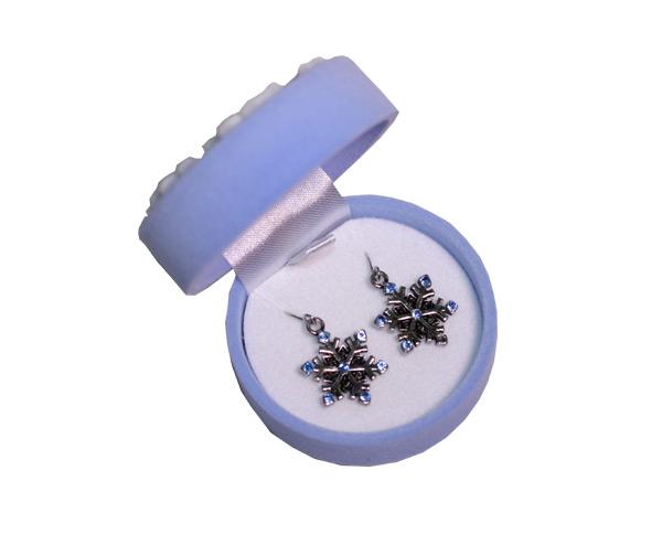 Snowflake Earrings In Snowflake Box - Jewelry Novelties - Prizes & Novelties