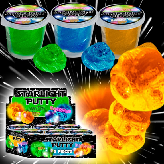 Flashing Crystal Putty