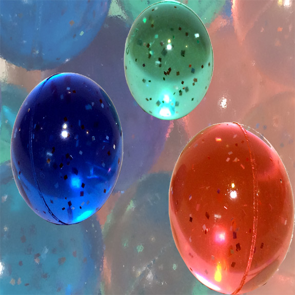 Glitter High Bounce Ball (each)