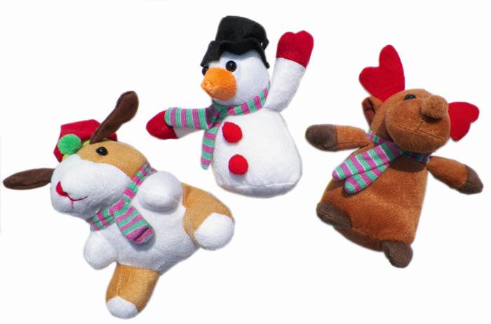 Holiday Plush 5.5 Inch - Plush Gifts - Prizes & Novelties