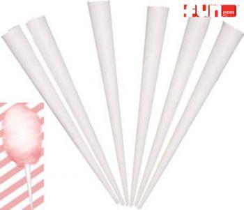 Cotton Candy Cones - Each - Cotton Candy Supplies - Prizes & Novelties
