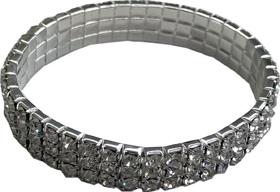 Diamond Stretch Bracelet in Jewelry Pouch - Jewelry Novelties - Prizes & Novelties