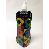 Soccer Rocks Collapsible Water Bottle - Prizes For Boys & Girls - Prizes & Novelties