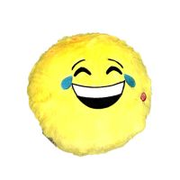 Light Up Emoji Smile Pillow - Prizes For Boys & Girls - Prizes & Novelties