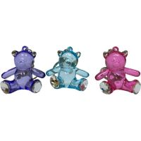 Crystal Like Bear Keychain - Prizes For Boys & Girls - Prizes & Novelties