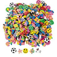 Mini Erasers - Assorted - Prizes For Boys & Girls - Prizes & Novelties