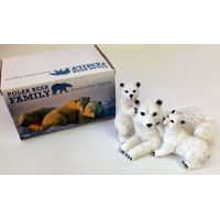 Polar Bear Family Figurine - Prizes for Ladies - Prizes & Novelties