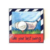 Inspirational Golf Plaque - Prizes for Guys - Prizes & Novelties