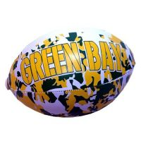 Green Bay Vinyl Camouflage Football - 6 Inch - Sports Team Logo Prizes - Prizes & Novelties
