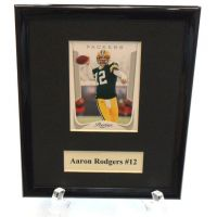 Aaron Rodgers NFL Sports Star Plaque - Sports Team Logo Prizes - Prizes & Novelties