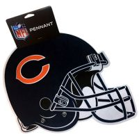 Chicago Bears Sports Team Helmet Pennant - Sports Team Logo Prizes - Prizes & Novelties