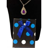 Silver Pear Shape Necklace - Jewelry Novelties - Prizes & Novelties