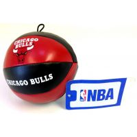 NBA Vinyl Basketball - Bulls - Sports Team Logo Prizes - Prizes & Novelties
