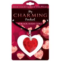 Heart Charm Pendant - Jewelry Novelties - Prizes & Novelties