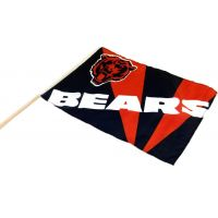 Team Flag on Stick - Bears - Sports Team Logo Prizes - Prizes & Novelties