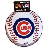 Chicago Cubs MLB Ball Pennant - Sports Team Logo Prizes - Prizes & Novelties