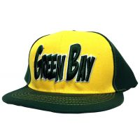 Green Bay City - Flat Brim Hat - Cap - Sports Team Logo Prizes - Prizes & Novelties