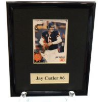 Jay Cutler Sports Star Plaque - Sports Team Logo Prizes - Prizes & Novelties