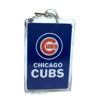 Chicago Cubs MLB Acrylic Keychain - Sports Team Logo Prizes - Prizes & Novelties