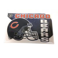 NFL Button Pin - Chicago Bears - Sports Team Logo Prizes - Prizes & Novelties
