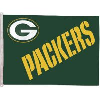Green Bay Packers Banner Flag - Sports Team Logo Prizes - Prizes & Novelties