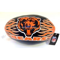 9 In. NFL Vinyl Football - Bears - Sports Team Logo Prizes - Prizes & Novelties