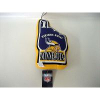 Minnesota Vikings Vinyl No 1 Hand - Sports Team Logo Prizes - Prizes & Novelties