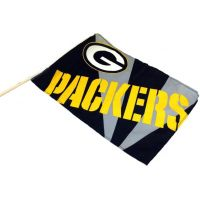 Team Flag on Stick - Packers - Sports Team Logo Prizes - Prizes & Novelties